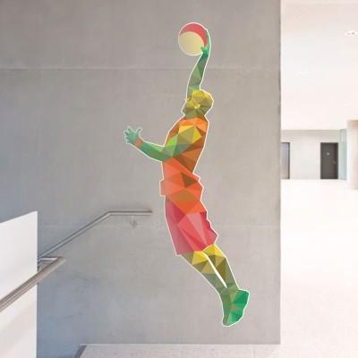 Κάρφωμα μπασκετμπολίστα, Σπορ, Αυτοκόλλητα τοίχου