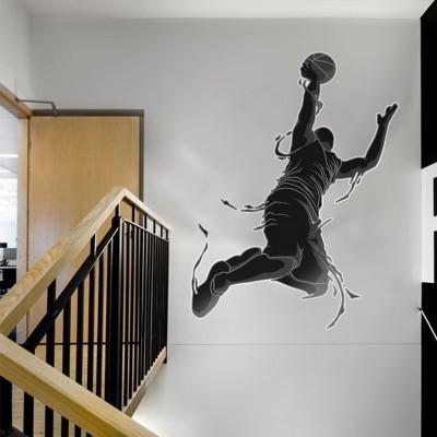 Μπασκετμπολίστας στον αέρα, Σπορ, Αυτοκόλλητα τοίχου