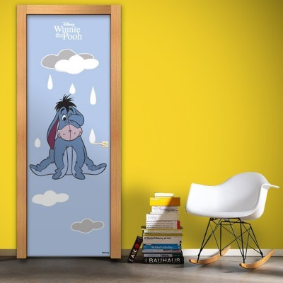 Sad Gary, Winnie the Pooh Disney Αυτοκόλλητα πόρτας 60 x 170 cm