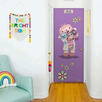Η μικρή Αρνίτσα, Μικρή Γιατρός Disney Αυτοκόλλητα πόρτας 60 x 170 cm