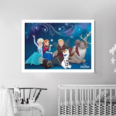 Η παρέα της Frozen! Disney Πίνακες σε καμβά 34 x 50 cm