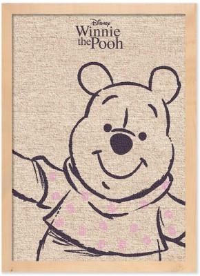 Ο Winnie το αρκουδάκι Παιδικά Πίνακες σε καμβά 20 x 30 εκ.
