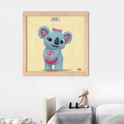 Γλυκό Κοάλα, η μικρή γιατρός! Disney Πίνακες σε καμβά 50 x 50 cm