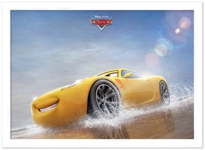 Τρισδιάστατος Cruz Ramirez, Cars Παιδικά Πίνακες σε καμβά 30 x 20 εκ.