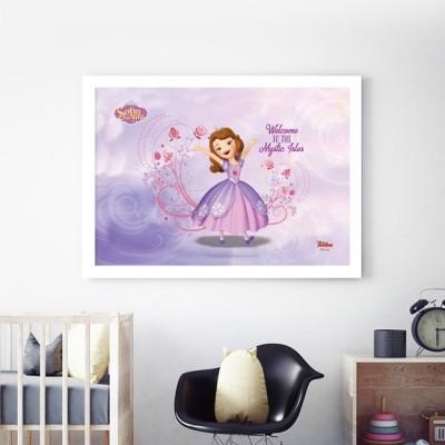 Καλωσήρθατε, Sofia The First Disney Πίνακες σε καμβά 34 x 50 cm