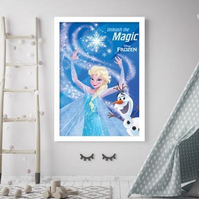 Πριγκίπισσα Elsa, Frozen ! Disney Πίνακες σε καμβά 75 x 50 cm