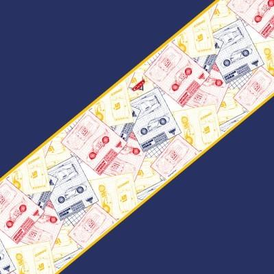 Cars μοτίβο σε φιλμ, Μπορντούρες, Μπορντούρες