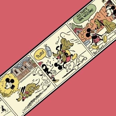 Ο Pluto καλωσορίζει τον Mickey! Disney Μπορντούρες 150x20 cm