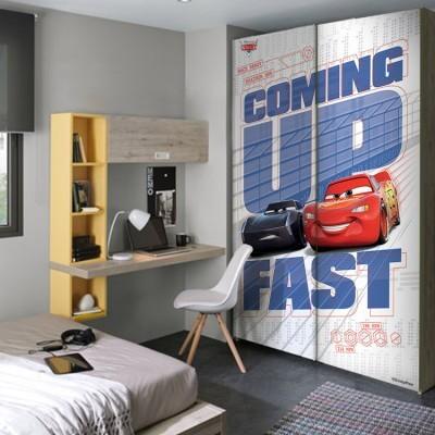 Coming up fast, Cars, Παιδικά, Αυτοκόλλητα ντουλάπας