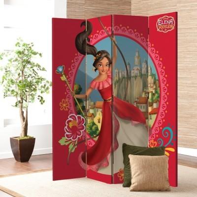 5c1e59983d4 Η όμορφη πριγκίπισσα Έλενα του Άβαλορ Disney Παραβάν 80x180 cm [Δίφυλλο]