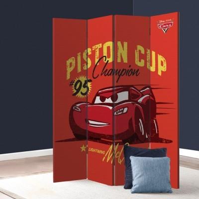Piston Cup, Cars Παιδικά Παραβάν 80 x 180 εκ. [Δίφυλλο]