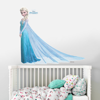 Elsa, Frozen!!! Παιδικά Αυτοκόλλητα τοίχου 56 x 49 εκ.