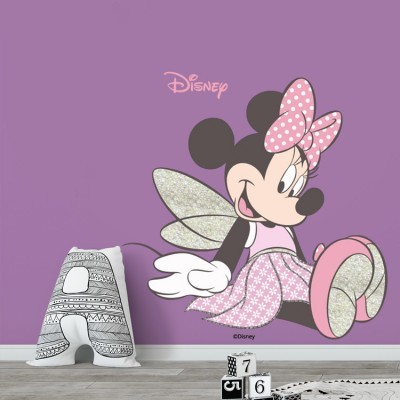 Fairy Minnie Mouse! Disney Αυτοκόλλητα τοίχου 50 x 50 cm