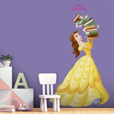 Η Πριγκίπισσα Μπέλ Disney Αυτοκόλλητα τοίχου 68 x 40 cm