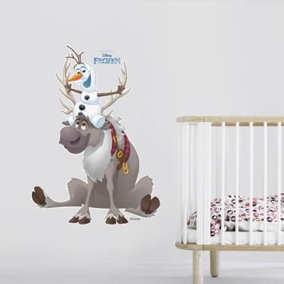 Olaf & Sven Παιδικά Αυτοκόλλητα τοίχου 50 x 69 εκ.