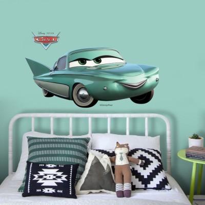Flo , Cars Disney Αυτοκόλλητα τοίχου 23 x 50 cm