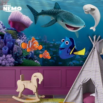Bailey, Destiny, Nemo, Marlin & Dory, Παιδικά, Ταπετσαρίες Τοίχου