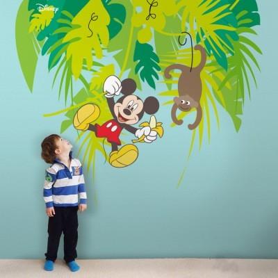 Ο Μίκυ και η μαϊμού!, Παιδικά, Ταπετσαρίες Τοίχου