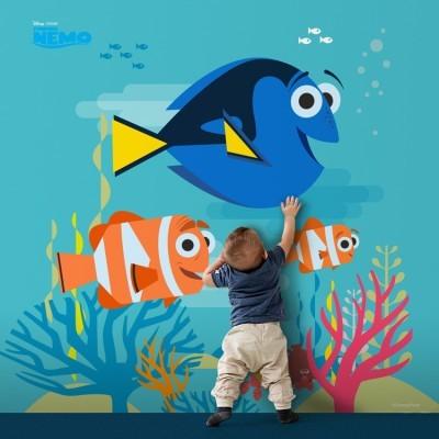 Ψάχνοντας τη Ντόρυ Παιδικά Ταπετσαρίες Τοίχου 100 x 100 cm