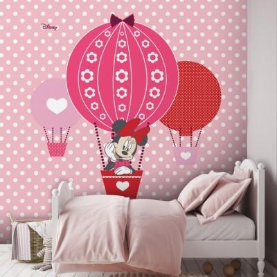 Η Μίνι Μάους σε αερόστατο! Disney Ταπετσαρίες Τοίχου 100 x 100 cm