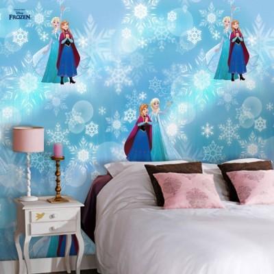 Sisters, Frozen Disney Ταπετσαρίες Τοίχου 100 x 100 cm