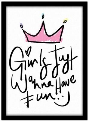 Girls just wanna have fun!, Παιδικά, Πίνακες σε καμβά