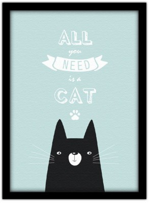 All you need is a cat, Παιδικά, Πίνακες σε καμβά