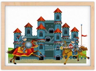 Κάστρο Παιδικά Πίνακες σε καμβά 30 x 20 εκ.