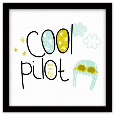 Cool pilot, Παιδικά, Πίνακες σε καμβά