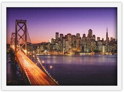 Γέφυρα στο Σαν Φρανσίσκο, Πόλεις - Ταξίδια, Πίνακες σε καμβά
