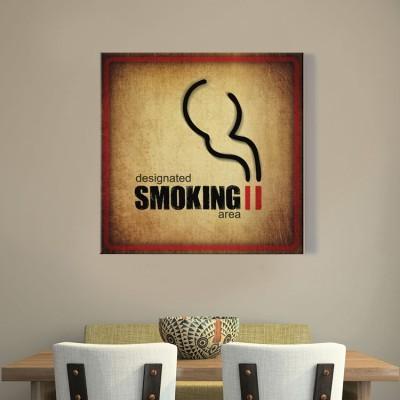 Χώρος Καπνιστών, Φαγητό, Πίνακες σε καμβά