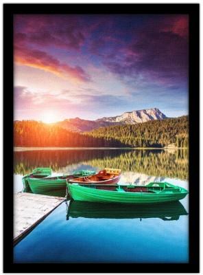 Πράσινες Βάρκες, Φύση, Πίνακες σε καμβά