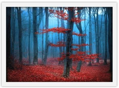 Κόκκινα Φύλλα, Φύση, Πίνακες σε καμβά