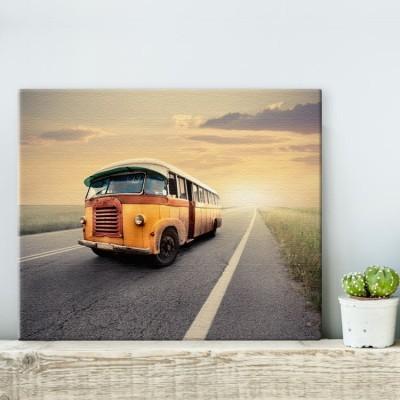 Vintage van, Vintage, Πίνακες σε καμβά