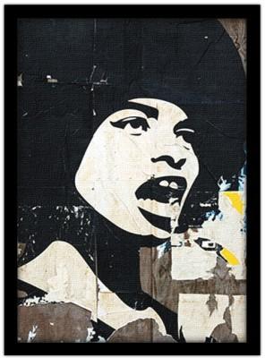 Γυναίκα που φωνάζει, Street art, Πίνακες σε καμβά