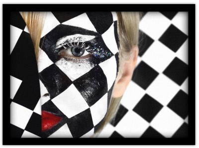 Face Painting, Άνθρωποι, Πίνακες σε καμβά