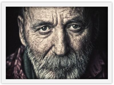 Πορτραίτο Ηλικιωμένου, Άνθρωποι, Πίνακες σε καμβά