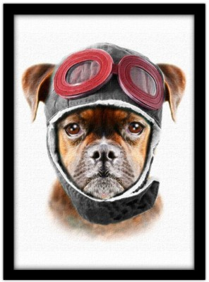 Σκύλος πιλότος, Ζώα, Πίνακες σε καμβά