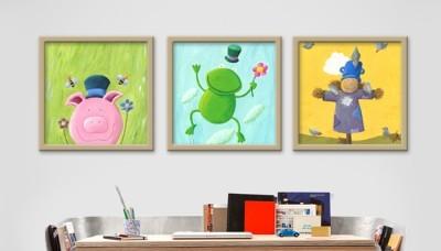 Zωγραφική, Παιδικά, Multipanel