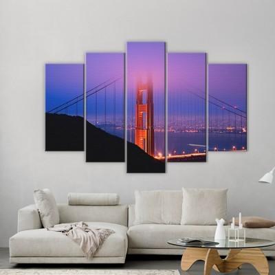 Γέφυρα Γκόλντεν Γκέιτ, Πόλεις - Ταξίδια, Multipanel