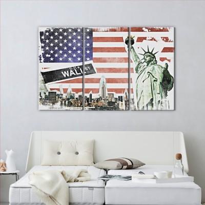 Kολάζ με την Νέα Υόρκη