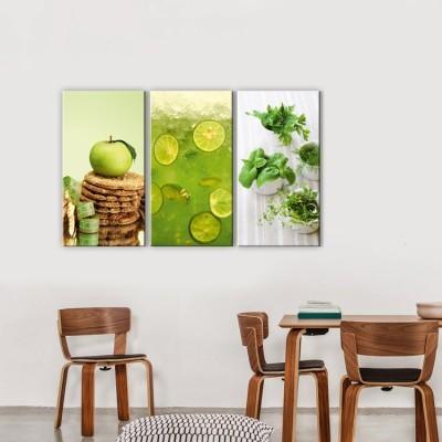 Πράσινο μήλο, Φαγητό, Multipanel
