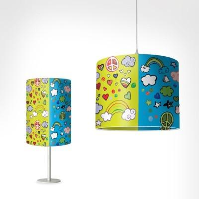 Ειρήνη Παιδικά Φωτιστικά Set [Light Set 1 + 1]