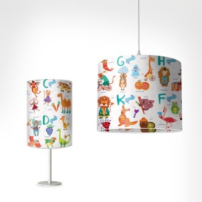 Aλφάβητο Παιδικά Φωτιστικά Set [Light Set 1 + 1]