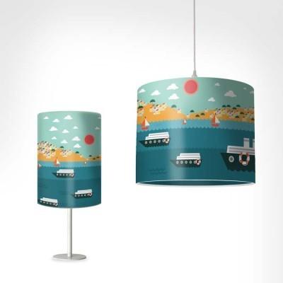 Καραβάκια Παιδικά Φωτιστικά Set [Light Set 1 + 1]