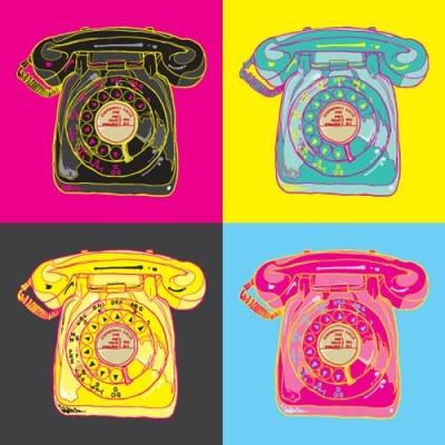 Pop art τηλέφωνα