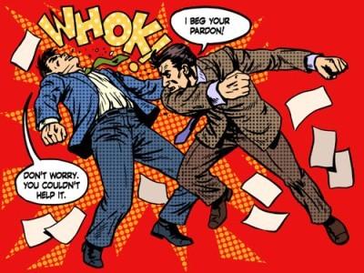 Men fighting!, Κόμικς, Image Gallery