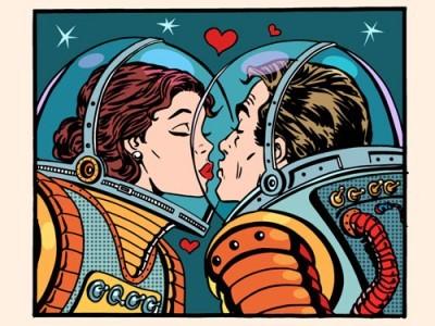 Φιλιά στο διαστημά