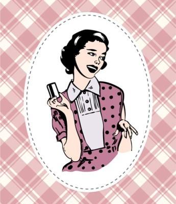 Γυναίκα με πιστωτική κάρτα