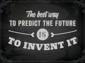 To invent it..